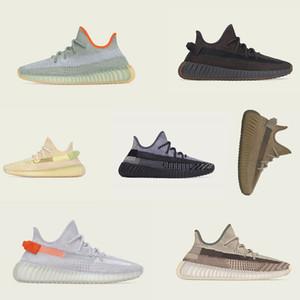 New Men son tasarımcı ayakkabıları 35-48 johhing Curuflu Zyon Çöl Adaçayı Toprak Keten beyaz spor ayakkabı Koşu