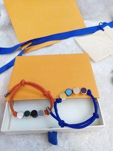 Pulseras de la manera pulsera unisex para hombre de la joyería de las mujeres ajustables forman la joyería 4 colores
