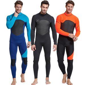 Yeni Erkekler Dalgıç Giysisi 3MM Kalınlaşmış Uzun Kollu Denizanaları Giyim 1070 ile Kış Doğa Sporları Şnorkel Suit Sörf Giyim Isınma