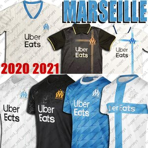 Marseille 120º aniversário Soccer Jersey Olympique de Marseille Camisa De Futebol 10 Payet Radonjic Sanson Thauvin GERMAIN Soccer Jersey