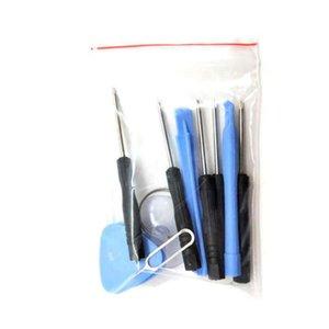 11pcs / Set riparazione del telefono mobile Tools Kit Set di cacciaviti di attrezzi di apertura Smontare Kit per il telefono mobile astuto ZZA2106 100Pcs