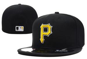 Мужские Пираты приталенные шляпы шапки женская бейсболка Питтсбург кепка логотип команды болельщики бейсболка высшего качества