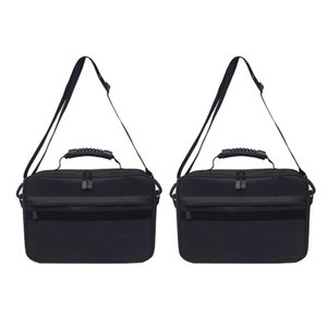 2pcs Pesca Reel Storage Bag Grande Lure Hook Line Gear Box Enfrente Caso Holdall