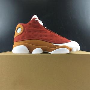 La meilleure qualité 13 Premio Bin 23 13s Basketball Designer Shoes Red Team Désert Blanc Clay XIII Mode Hommes Baskets Chaussures de sport