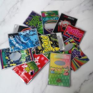 13 Gashouse Sharklato Thkax à prova de cheiros Sacos de Mylar Balla bagas manteiga de amendoim respiração Sinergia Slymer Connected sacos de embalagem para a seco de erva