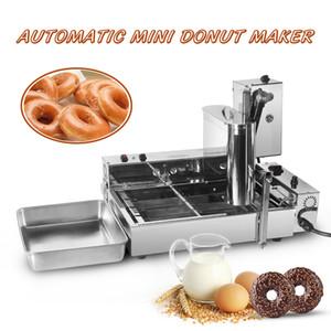 Ticari Otomatik Üretim Çörek Yapma Makinesi 6L Paslanmaz Çelik Elektrikli Kızartma Mini Çörek Makineleri 1750pcs / H