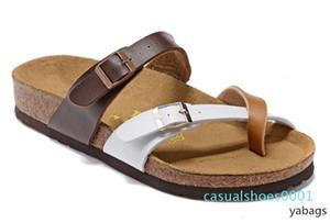Mayarí Florida Arizona 2019 caliente verano de la venta mujeres de los hombres zapatillas sandalias de corcho pisos unisex zapatos casuales zapatillas de playa AC01