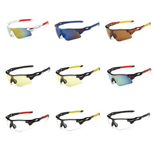 Fashional Ciclismo Eyewear unisex Outdoor Sunglass UV400 bici di riciclaggio di vetro della bicicletta Sport Occhiali da sole Equitazione Goggles