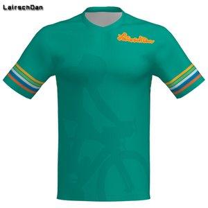 LairschDan 2020 New Short Sleeve Offroad Downhill Jersey DH MX Clothing MTB Cycling Jerseys Motorcycle Motocross Bike T-Shirts