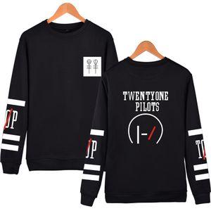 Twenty One Pilots Pullover für Männer Frauen Big Logo Hooded Männer Street Hip Hop Lange Känguru Pullover Männer Oberbekleidung Kleidung