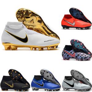 2019 erkek futbol ayakkabı Phantom VSN Gölge Elite DF AG-PRO futbol cleats Oyunu Futbol çizmeler üzerinde scarpe da calcio