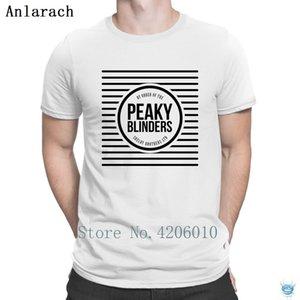 Peaky Blinders Tshirt Cheap Sale Custom Quirky Building Men's Tshirt Top Quality Pattern Anlarach 100% Cotton
