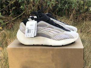 2020 Stampa Originals 700 V3 Azael nero 700Syzy Sneakers 3M Reflective incandescenza nello scuro Designer Running Shoes FW4980 H67799 con la scatola originale