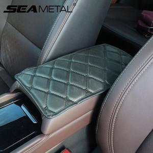 Auto Braço Almofada Center Console Protector Leather Car braço Mat Capa Car Styling braços decoração interior Pad Almofada