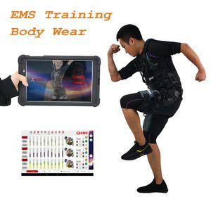 신제품 엠스 Xbody 기계 피트니스 바디 엠스 근육 자극기 훈련 용 장비