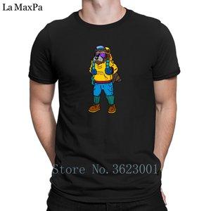 Explorer Raccoon T shirt personalizzate girocollo T-shirt per gli uomini vestiti grande Tee Shirt superiore Tee Shirt Tempo libero Nuovo arrivo