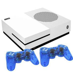 HD X 게임 콘솔 64 비트 4기가바이트 비디오 게임 플레이어 캔 스토어 600 HDMI AV 출력 게임 컨트롤러 지원 마이크로 SD 카드 키즈 아이