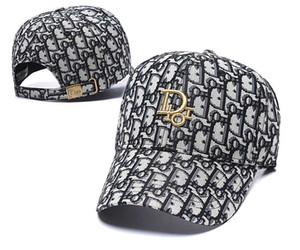 diseñador de sombreros de los casquillos de los hombres de hiphop snapbacks bordado gorra de béisbol diseñador letra de la impresión de la moda para las mujeres al aire libre tapas de bolas classic25