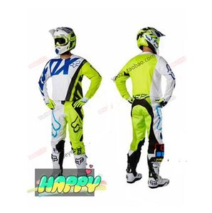 Nova motocicleta fox outdoor off-road riding Suit speed drop locomotive race quick-drying long-sleeped shirt