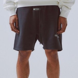 FEAR OF GOD Short Essentials-Reflective Letters gestickter Shorts Highstreet Hip Hop Bequeme Shorts Herren Designer-Hosen HFYYDK005