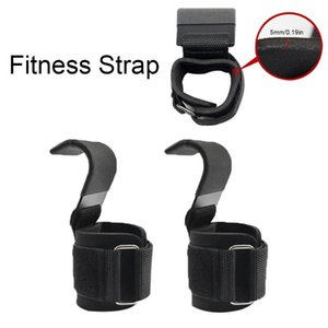 Weight Lifting Hooks Gym Fitness Set Weightlifting Wrist Straps Heavy Duty Pull-ups Power Lifting Grips with Padded Workout Hook