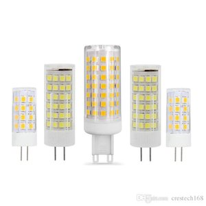 О G4 G9 светодиодная 220В 110В мини лампада светодиодные лампы G4 G9 с Сид 2835smd 3Вт 5Вт 7Вт 9Вт фары заменить Галоида G4 CRESTECH устройство G9 прожектор