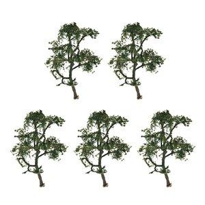 Birçok 5 1: 150 Ölçekli Manzara Çınar Modeli Ağacı İçin Tren Sokak Park dekorları