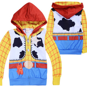 Cartoon Printed kids zipper hoodies Spring and Autumn 3-12t Kids Boys Cotton Hoodies Jacket Coat 110-150cm kids designer clothes boys ZSS339