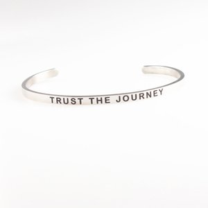 4mm Inspirational Quote Engraved Mantra Bracelet MOM WORTHY LOVE YOURSELF TRUST THE JOURNEY NO REGRETS LET YOUR LIGHT SHINE