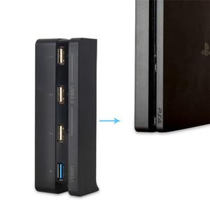 Neueste DOBE USB Hub für PS4 Schlanke 4 in 1 High Speed Adapter 1 USB 3.0 Port 3 USB 2.0 Ports für PS4 Schlanke Spielekonsole Zubehör