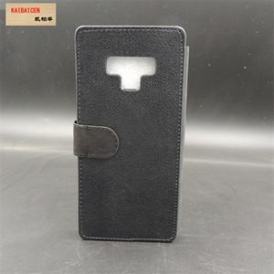Samsung Not 9 için Süblimasyon 2D deri PU cep telefonu kılıfı cep telefonu kapağı