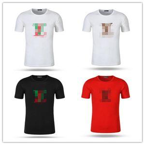 Summer Printing Designer T Shirt Mens T Shirt Couple Sport Tide Clothing Tshirts Hip Hop Harajuku T-shirt Louìs Vuìttõn g M-3XL.