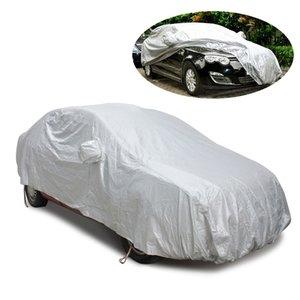 Автомобиль Чехлы для Sedan Anti-UV Защитный футляр на Автомобиль Snow Shield стайлинга Обложка Sun Shade Car-Covers