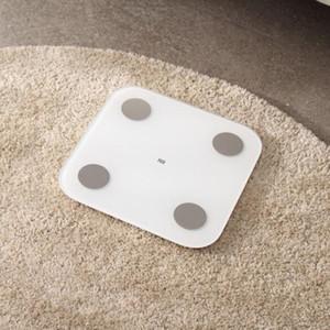 Xiaomi Mi inteligente Body Fat Scale 2 Com Composição Mifit APP corpo monitor com LED escondido exibição Fat Scale