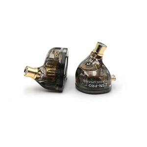 KZ ZSN Pro Metal Earphones 1BA+1DD Hybrid Technology HIFI Bass Earbuds In Ear Monitor Headphones Sport 3.5mm Wired Noise Cancelling Headsets