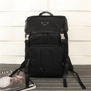 Neo-klasik moda BZ135 boyutu 45cm 27cm 17cm retro tarzı lüks tuval deri sırt çantası tasarımcısı en kaliteli sırt çantası