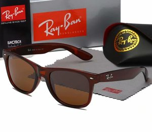 High quality brand design men's and women's sunglasses Fashion Leisure 2020 gradual Pink Blue Lens men's glasses