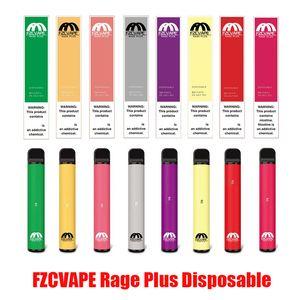 Rage original FZCVAPE Plus dispositivo desechable Pod Kits 550mAh 3,2 ml precargada Vape palillo de la pluma para Blow Pop zumbido Vacío VS Xtra 100% auténtico