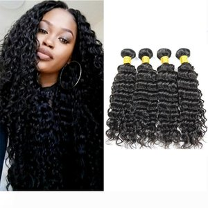 New Arrival Unprocessed Hair Bundles Peruvian Deep Wave for Black Women Brazilian Indian Cambodian Mongolian Malaysian Remy Human Hair Weave