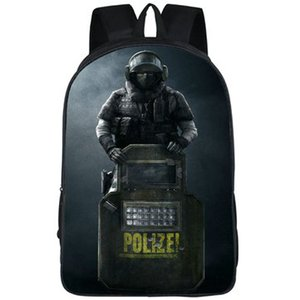 Blitz backpack Rainbow Six daypack 6 Elias Kotz schoolbag Game print rucksack Sport school bag Outdoor day pack