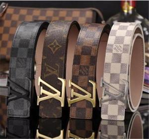 Mode nouveau produit 2019 design de la marque de ceinture tête senior masculine avec la dernière ceinture en cuir homme en cuir vacher loisirs femme ceinture de mode