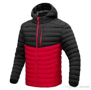 New Fashion Designer Men clothing Winter Cotton-padded clothes down Jacket hooded Parka hoodies keep Warm Coats Casual Sports Overcoat