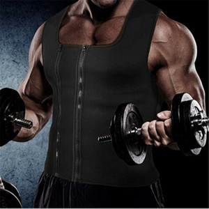 Hommes Hot Sweat Body Shaper Tank Top Tummy Fat Burner Minceur Sauna Gilet néoprène Poids amincissants Gilet néoprène Hot Corset