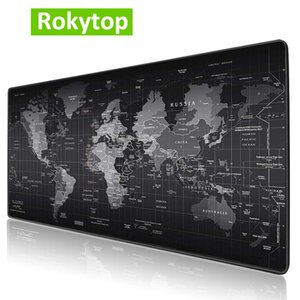 Cheap Mouse Pads Rokytop Gaming MousePad Large Mouse pad Computer mause mat Rubber Gamer Mause Carpet PC Desk Mat keyboard pad carpet