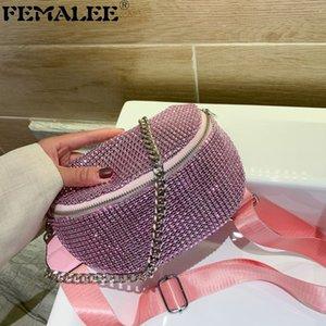 Diamanti di lusso di donne colorato strass Evening Bag Moda Femminile Borse piccolo partito Marsupio Ins Crossbody Messenger Bags
