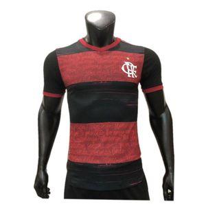 2020 21 Flamengo Player Version Soccer Jersey 2021 #9 GABRIEL B. GERSON DIEGO Jersey #7 E.RIBEIRO #21 PEDRO VITINHO Player Football Shirt