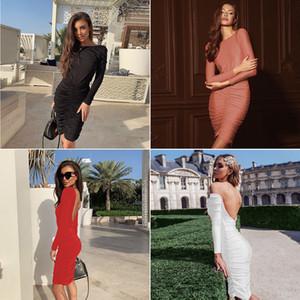 2020 Dress Sexy Slim Lady long evening dress