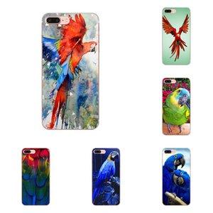 Personnalisé Macaw Parrot TPU Live Love Téléphone Pour Huawei Honor Maté 7 7A 8 9 10 20 V8 V9 V10 V30 P40 G Lite Mini Pro P Jouer à puce