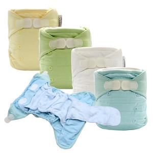 Couches Lavables bébé en tissu lavable DiaperCover réutilisable Langes EA2 Nappy Avec Bamboo Cotton Insert prédoublée couches All In Two CX200605
