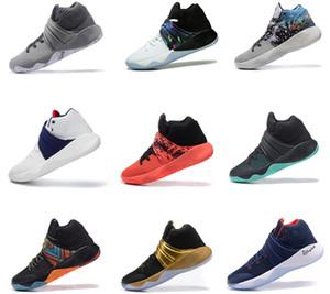 Top Quality Men Com Box Kyrie 2 Basketball Designer calçados esportivos de luxo instrutor Sneakers Irving 2S Athletic Shoes